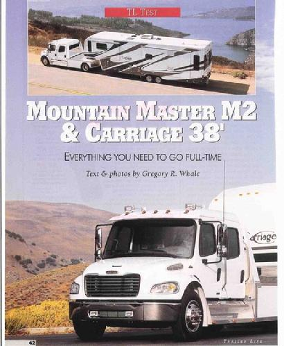 Freightliner M2 feature article in Trailer Life Magazine